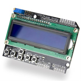 Arduino Uno 2x16 LCD Shield